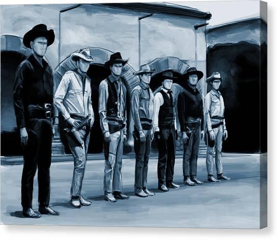The 7 Canvas Print