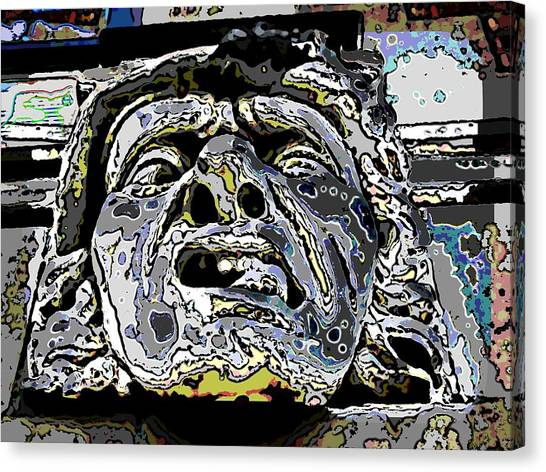 Profile Canvas Print - The Abscess by Tim Allen
