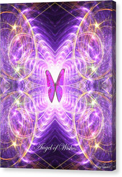 The Angel Of Wishes Canvas Print