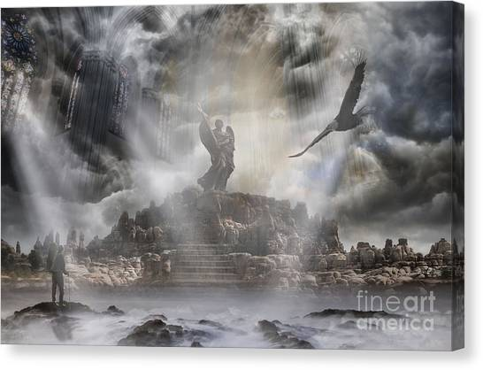 Desolation Canvas Print - The Arrival by Keith Kapple