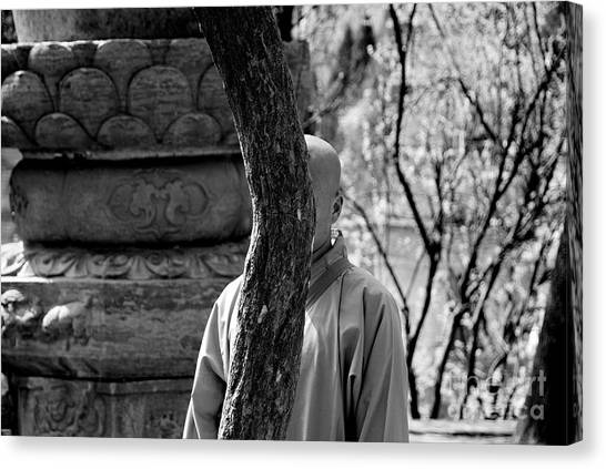 Kung Fu Canvas Print - The Art Of Invisibility by Dean Harte