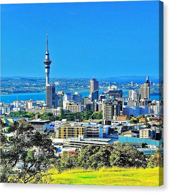 Trip Canvas Print - The Auckland Metropolitan Area ( by Tommy Tjahjono