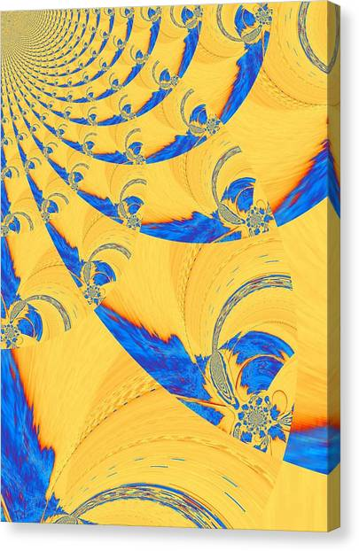 The Bark Of A Thousand Eyes Canvas Print by Mary Ann Southern