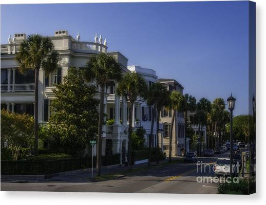 The Battery Charleston Sc Canvas Print