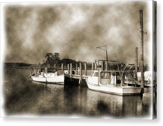 The Bayou Canvas Print by Barry Jones