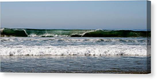 The Beach In Calabasas Ca Canvas Print