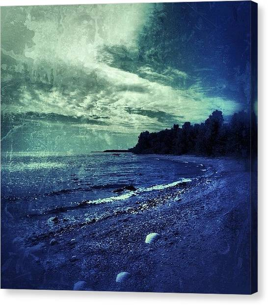 Manitoba Canvas Print - The Beach by Jessica Mutimer