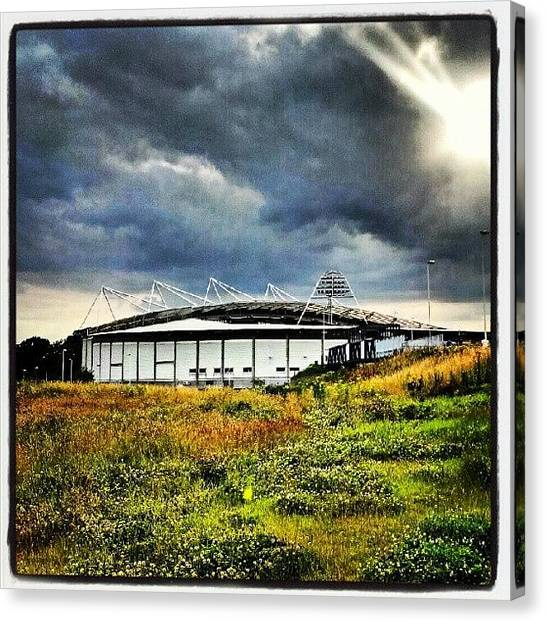 Soccer Leagues Canvas Print - The #beautiful #kc #stadium #home To by Craig Dyson