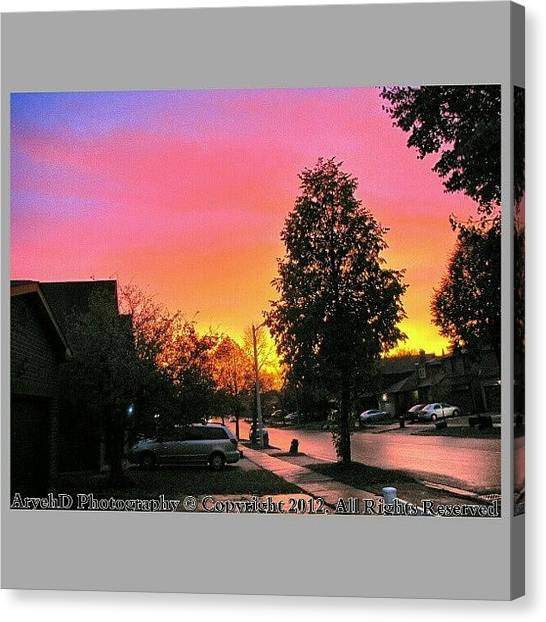 Ontario Canvas Print - The Beautiful Sky After The Storm This by Aryeh D