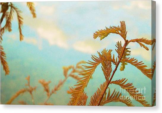 The Beauty Of Weeds Canvas Print by Steven Lebron Langston