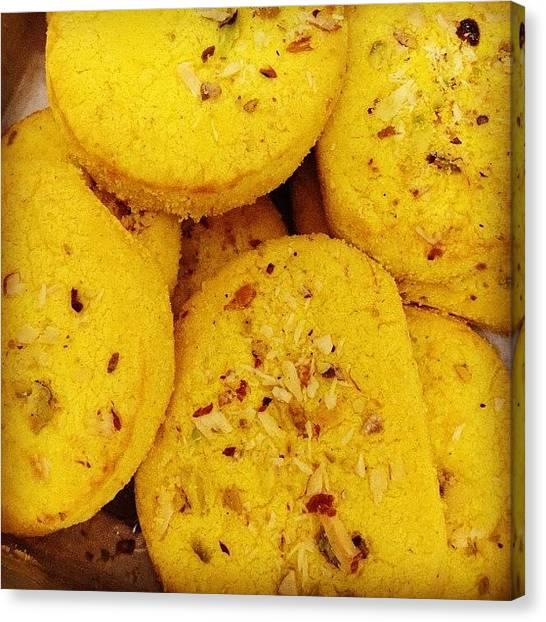 Bakeries Canvas Print - The Best Biscuits In The Whole Wide by Sahil Gupta