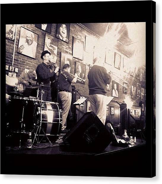 Jazz Canvas Print - The Brass Section... #music #dixie by Patty Carrion