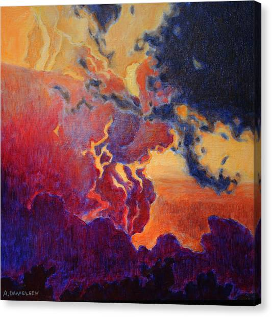 The Brilliance Of The End Canvas Print