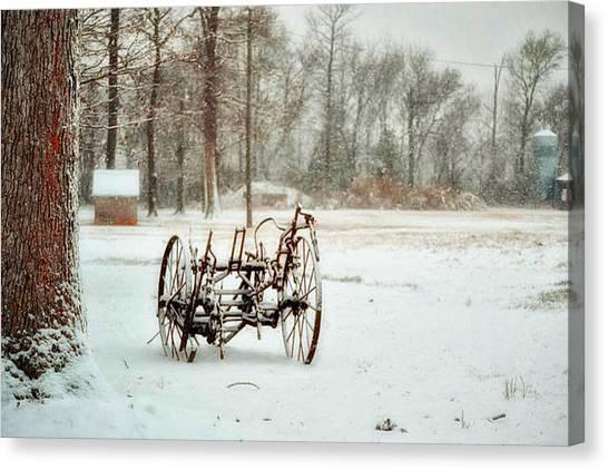 The Broken Wheel Canvas Print