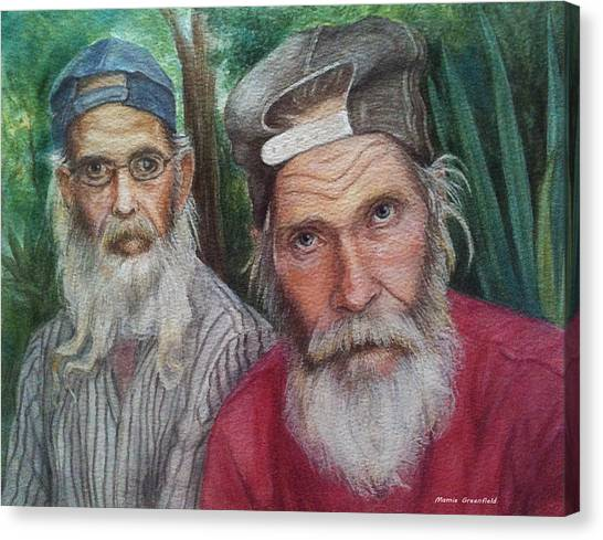 The Brothers Canvas Print