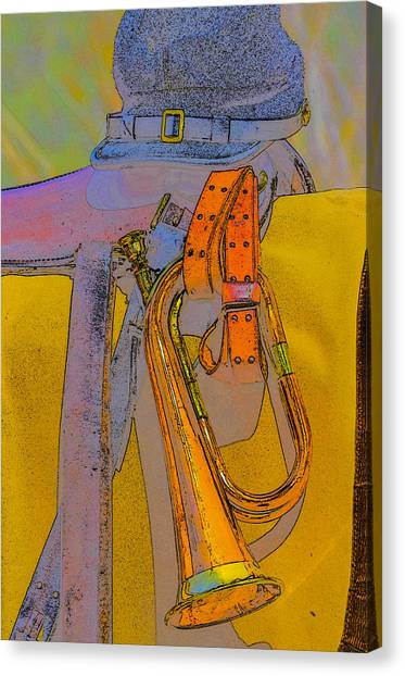 The Bugler Canvas Print