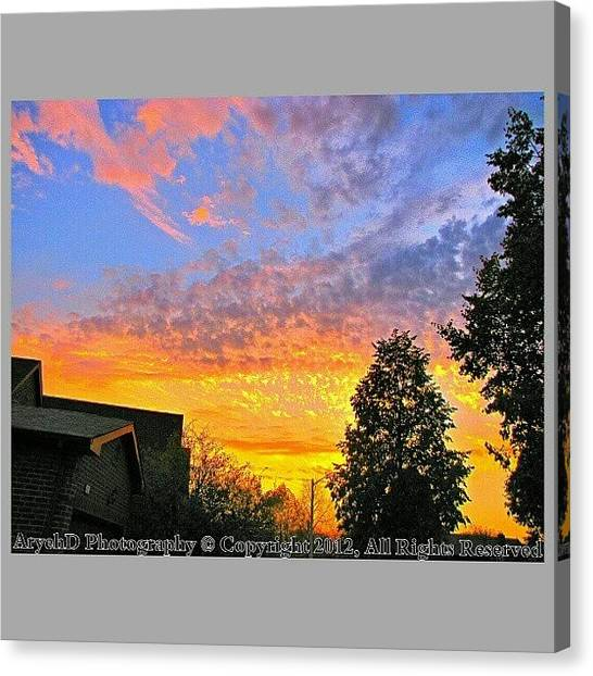 Ontario Canvas Print - The Calm After The by Aryeh D