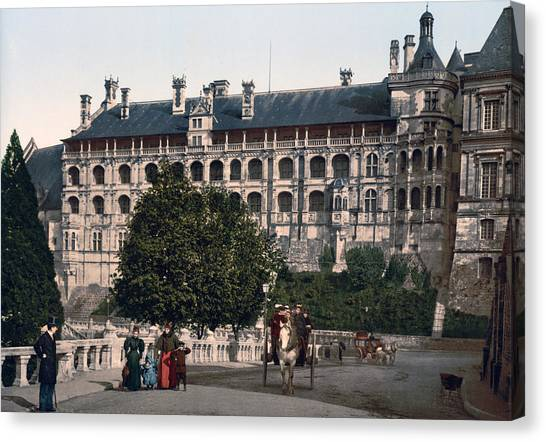 The Castle In Blois - France Canvas Print by International  Images