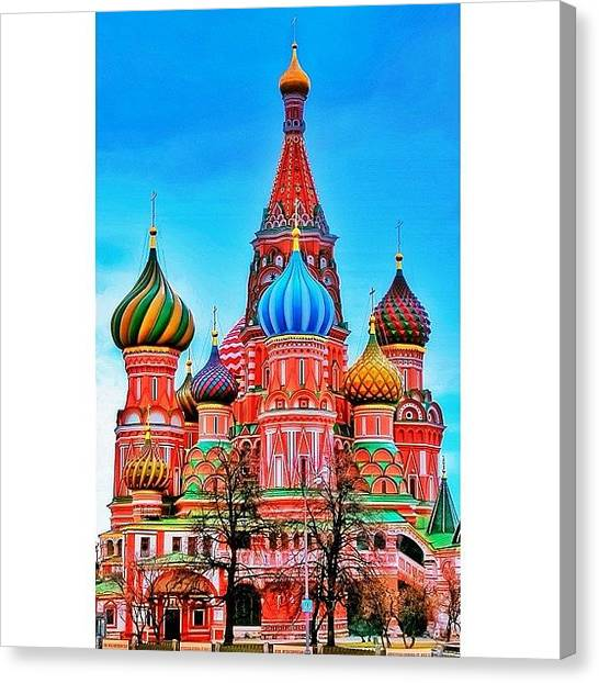 Geometric Canvas Print - The Cathedral Of The Protection Of Most by Tommy Tjahjono