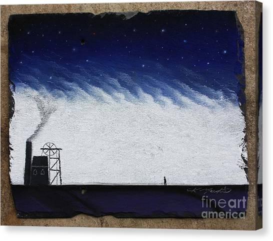 The Coal Miner Canvas Print