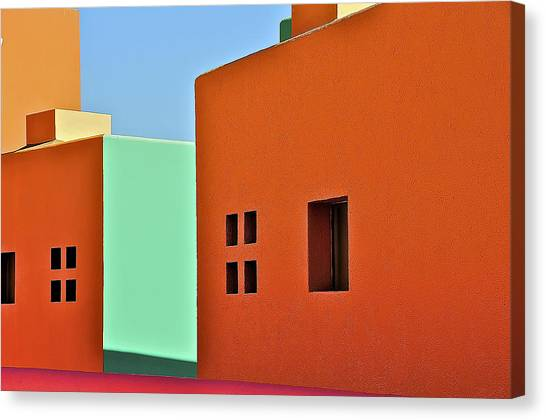 the Colors of Mexico Canvas Print