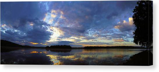 The Colors Of Morning  Canvas Print by John Ungureanu