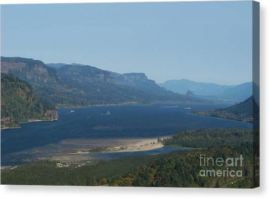 The Columbia River Gorge Canvas Print