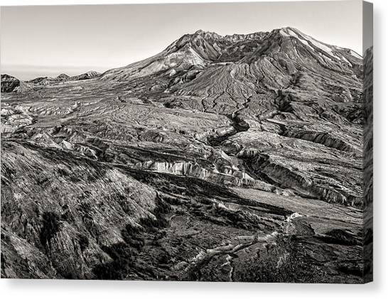 Mount St. Helens Canvas Print - The Crater by Dan Mihai