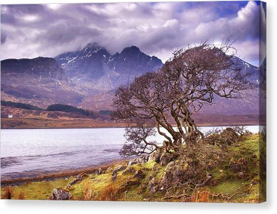 The Cuillins Skye Canvas Print