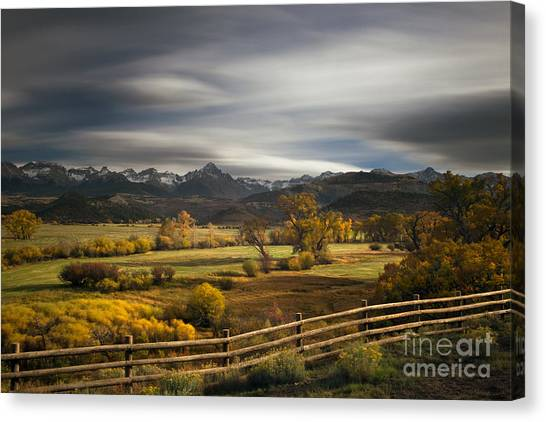 Colorado Rockies Canvas Print - The Dallas Divide by Keith Kapple