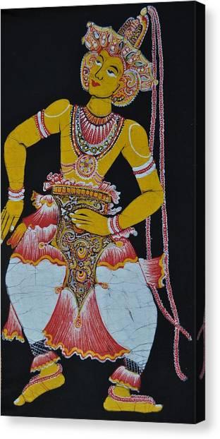 The Dance Canvas Print by Kumi Rajagopal