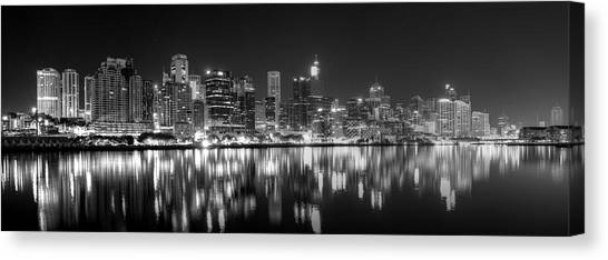 The Dark Side Of Town Canvas Print