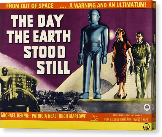 The Day The Earth Stood Still, Lock Canvas Print by Everett