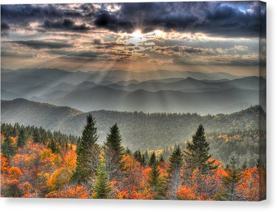 The Divine Canvas Print by Mary Anne Baker