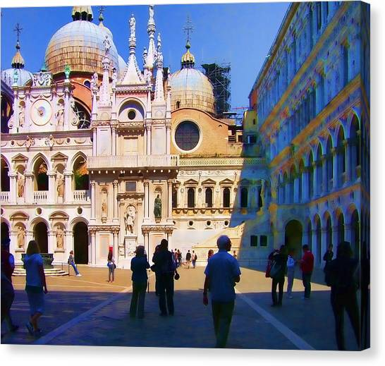 The Doge's Palace Venice Canvas Print