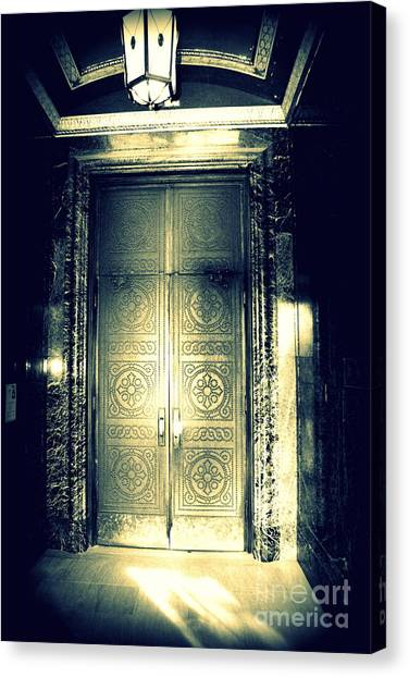 The Doorway Canvas Print