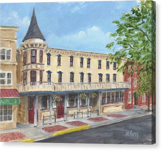 The Doylestown Inn Canvas Print