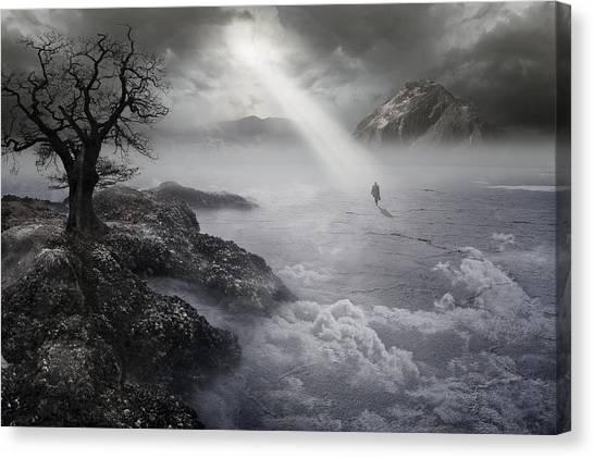 Desolation Canvas Print - The Drifter IIi by Keith Kapple