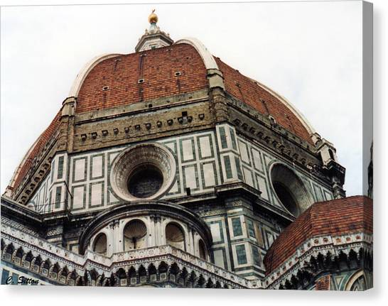 The Duomo In Florence Canvas Print