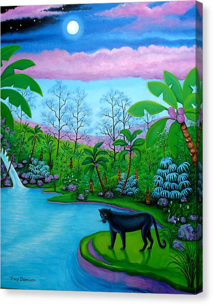 The Emerald Jungle Canvas Print