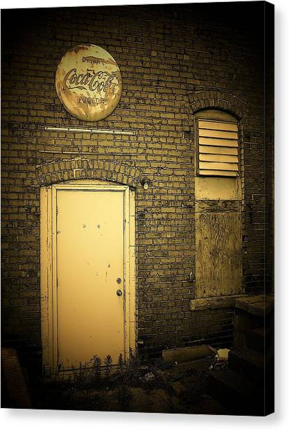 The Entrance Canvas Print
