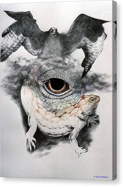 The Eye Of Power Canvas Print