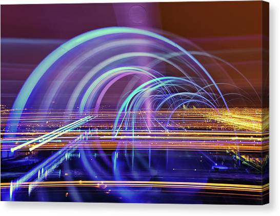 The Falkirk Wheel Canvas Print by Anthony Brawley Photography