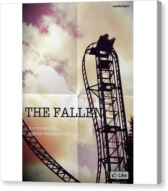 Saws Canvas Print - The Fallen: Survivors Of The Highest by Reigun  Decena