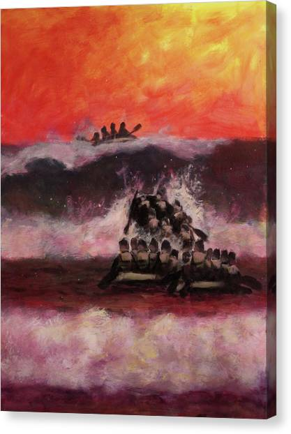 Navy Seal Canvas Print - The Final Passage by Stephen Roberson