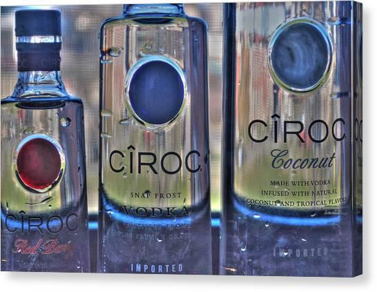 The Finest Of Vodka Ciroc Canvas Print