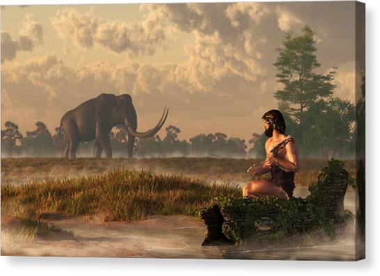Mammoth Cave Canvas Print - The First American Wildlife Artist by Daniel Eskridge