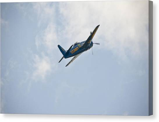 The First Blue Angel Canvas Print