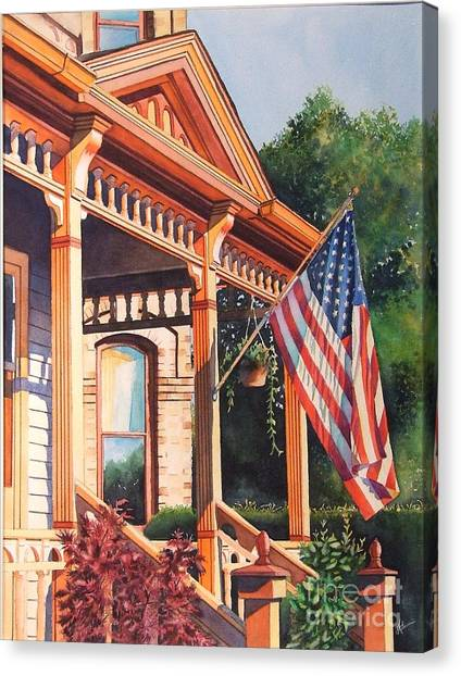 The Founders Home Canvas Print