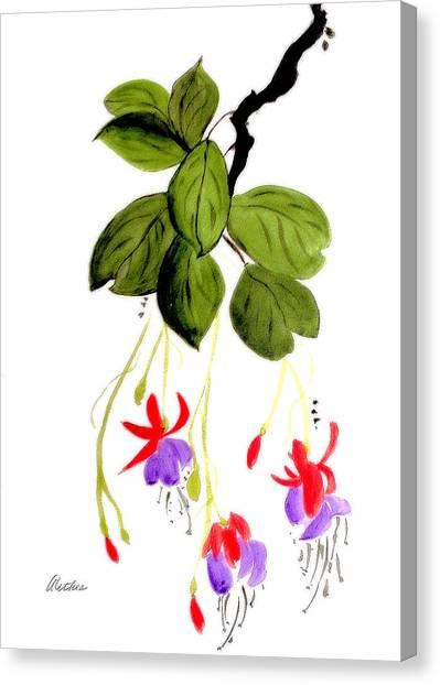 The Fuschia Canvas Print